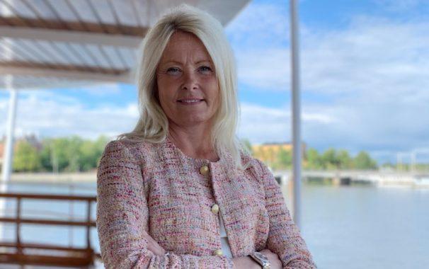 Anna Höjer, vd på Transdev Sverige.